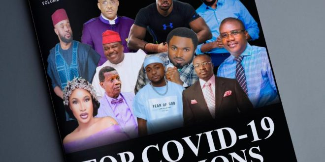 Adeboye, AJ Boxer, Ajanaku, Tonto Dikeh Others Hailed as 'Covid-19 Celebrity Champions' in July Issue of Apple's Bite International Magazine